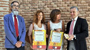 Presentación de la Colección de Cantes Flamencos de Antonio Machado y Álvarez 'Demófilo por parte del consejero de Cultura Paulino Plata