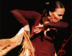 carmen la talegona, bailaora de flamenco de córdoba