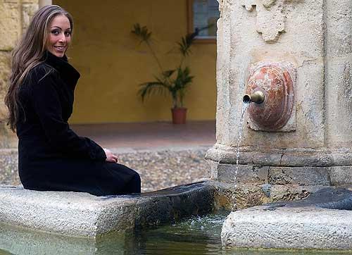 Inma de la Vega, cantaora de flamenco de Córdoba
