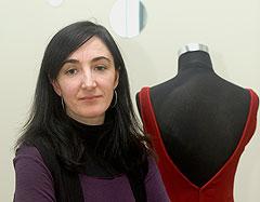 Lola Díaz, diseñadora de moda flamenca de Córdoba