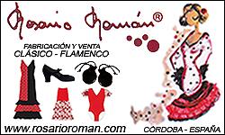 Rosario Roman - Ropa de baile y complementos de flamenco y clásico