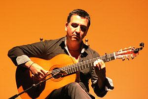 Antonio Flores, guitarrista de flamenco de Córdoba
