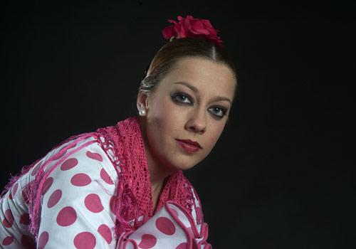 Entrevista a la bailaora Alba Luna, primer premio de Baile en el X Certamen de Jóvenes Flamencos de Córdoba. Foto: Toni Blanco.