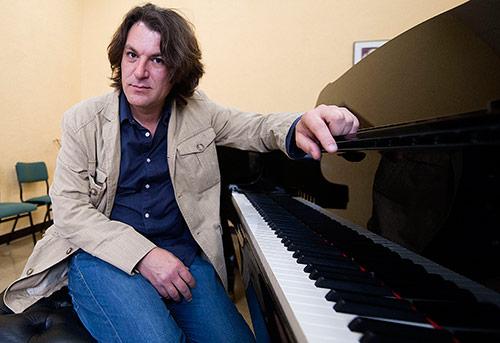 David Peña Dorantes en el Conservatorio de Córdoba. Foto: Toni Blanco.