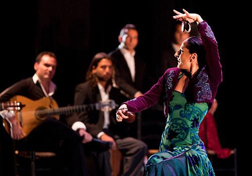 Mercedes Ruiz en la última edición del Festival de la Guitarra. Foto: Miguel Valverde.