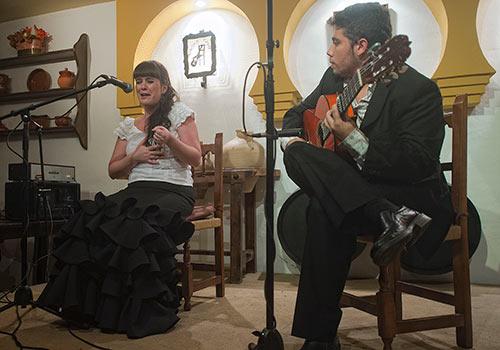 Isa Jurado y David Caro en la última edición del certamen. Foto: Toni Blanco.