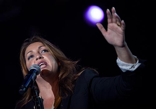 Niña Pastori presenta en Córdoba su espectáculo 'Lo que quiere el alma'. Foto: M. Valverde.