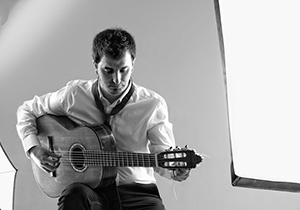 Luis Víctor Pérez, guitarrista flamenco.