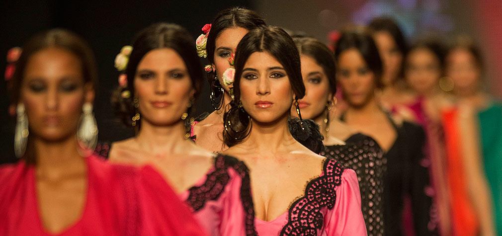 Pasarela de moda flamenca Simof 2013. Foto: Toni Blanco.