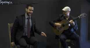 Bernardo Miranda y Rafael Montilla 'Chaparro Hijo', en el ciclo 'Matinales Flamencas' del Centro Flamenco Fosforito.