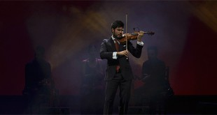 El violinísta cordobés, Paco Montalvo, en la presentación de su disco 'Alma de Violín Flamenco'.
