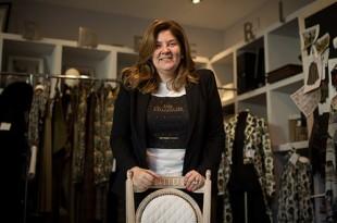Sonia Rojas, diseñadora y gerente de la firma cordobesa Aldebarán. Foto: Miguel Valverde.