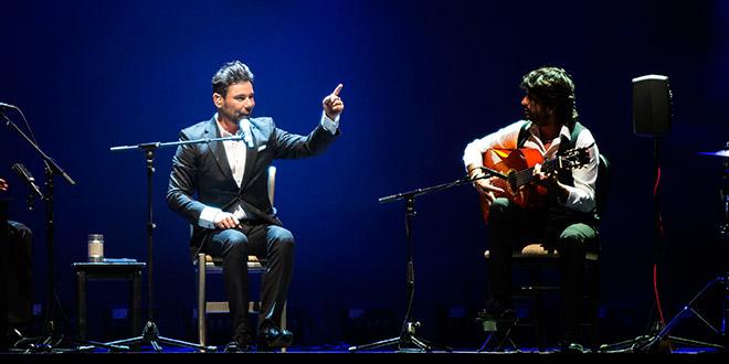 Miguel Poveda ofrecerá un concierto el próximo 7 de mayo en Puente Genil. Foto: Miguel Valverde.