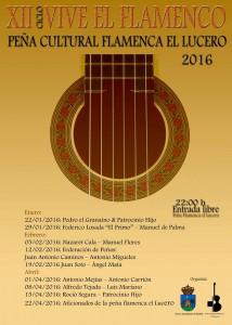 Ciclo Vive el Flamenco. Juan Antonio Camino @ Peña Flamenca El Lucero | Montilla | Andalucía | España