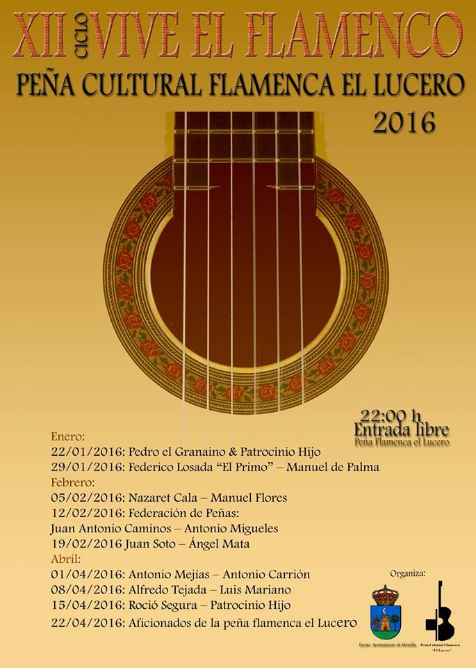 Vive el Flamenco | Artistas locales @ Peña Flamenca El Lucero | Montilla | Andalucía | España