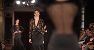 Colección de trajes de flamenca de Sánchez Murube en We love Flamenco 2016. Foto: Miguel Valverde.