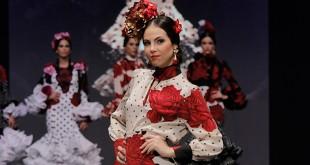 Colección de trajes de flamenca de Aránega en Simof 2016. Foto: Chema Soler.
