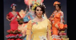 Colección de trajes de flamenca de Atelier Rima en Simof 2016. Foto: Chema Soler.