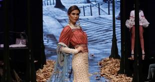Colección de trajes de flamenca de Carmen Vega en Simof 2016. Foto: Chema Soler.