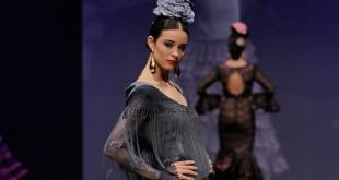 Nueva colección de trajes de flamenca de Hermanas Serrano en Simof 2016. Foto: Chema Soler.
