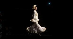 Colección de trajes de flamenca de Margarita Freire en Simof 2016. Foto: Miguel Valverde.