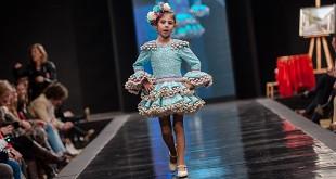 Desfile infantil de moda flamenca en la Pasarela Flamenca de Jerez 2016. Foto: SIC Fotógrafos.