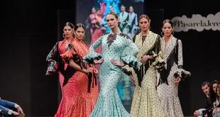 Colección de trajes de flamenca de Mario Gallardo en la Pasarela Flamenca de Jerez 2016. Foto: SIC Fotógrafos.