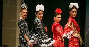 Colección de trajes de flamenca de Rocío y Sunana Martín en la Pasarela Flamenca de Jerez 2016. Foto: SIC Fotógrafos.