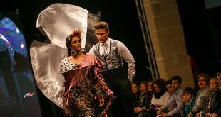 Colección de trajes de flamenca de Sevillanía en la Pasarela Flamenca de Jerez 2016. Foto: SIC Fotógrafos.