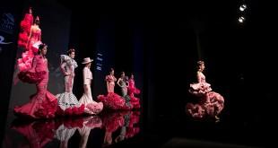 Nueva colección de trajes de flamenca de Andrew Pocrid en Simof 2016. Foto: Miguel Valverde.