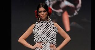 Colección de trajes de flamenca de Rosapeula en Simof 2016. Foto: Chema Soler.