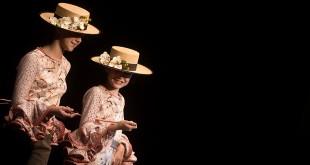 Colección de trajes de flamenca de Sara de Benítez en Simof 2016. Foto: Miguel Valverde.