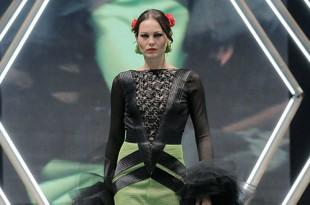 Colección de trajes de flamenca de la diseñadora María de Gracia. Foto: Chema Soler.