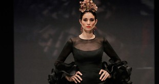 Colección de trajes de flamenca de Yolanda Rivas en Simof 2016. Foto: Chema Soler.