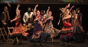 El Ballet Flamenco de Andalucía en una de sus actuaciones en Córdoba. Foto: Miguel Valverde.