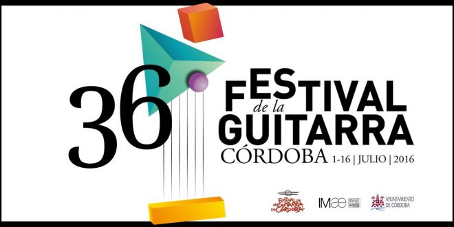 Festival de la Guitarra de Córdoba 2016.