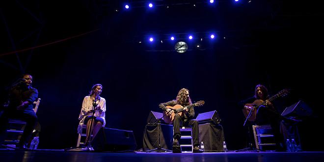 Tomatito ofreció un concierto en la Plaza de La Corredera. Foto: Miguel Valverde.