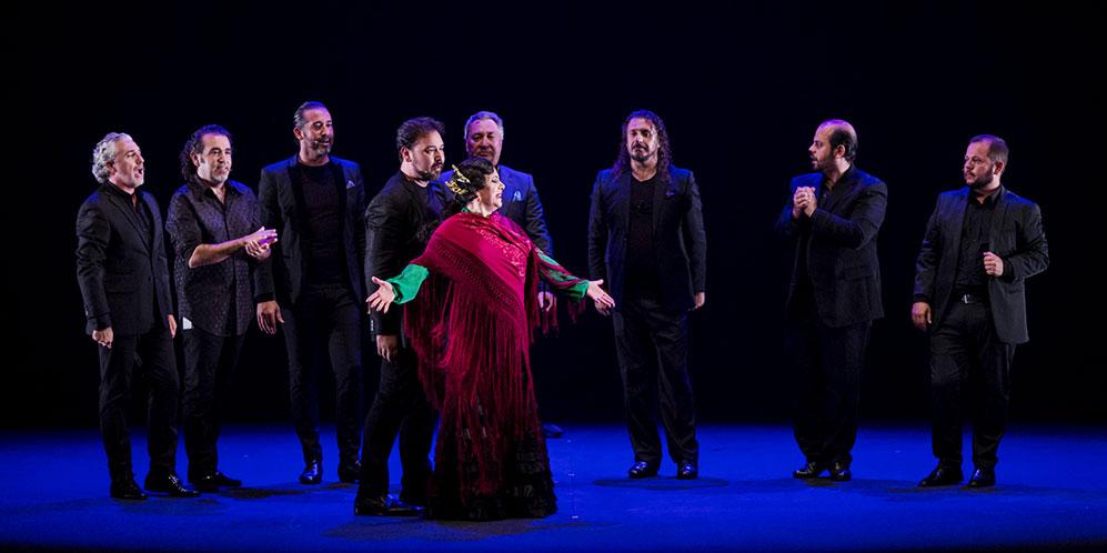 'Apariencias'. Eva Yerbabuena. Bienal de Flamenco. Foto: Óscar Romero.
