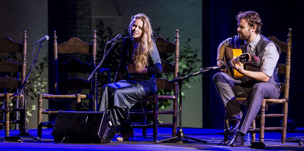 Dani de Morón y Rocío Márquez. Foto: Óscar Romero.