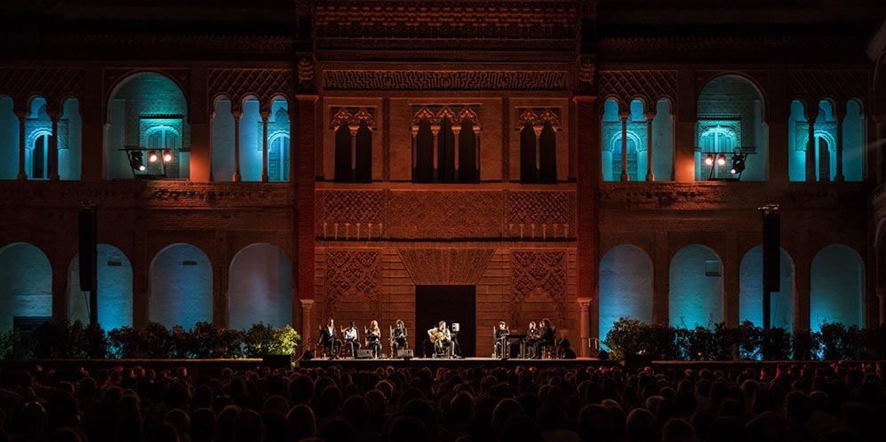 Concierto de Dani de Morón en la Bienal de Flamenco. Foto: Óscar Romero.