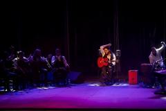 El guitarrista Niño Seve en el Homenaje a Farruco. Foto: Miguel Valverde.