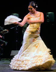Estefanía Cuevas, bailaora de flamenco de Córdoba