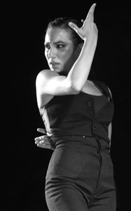 Laureana Granados, bailaora de flamenco de Córdoba