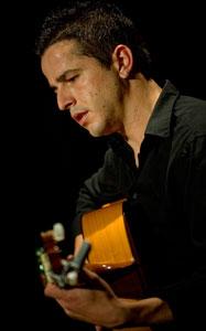 Ángel Ruiz, guitarrista de flamenco de Córdoba