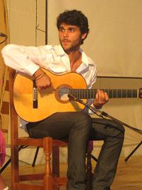 José Luis Fernández Antolí, guitarrista de flamenco de córdoba