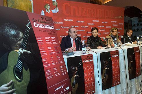 Presentación del cartel de la IX edición del Ciclo Flamenco Crucampo 'Por la Ruta de las Tabernas