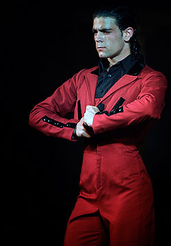 Ángel Reyes, bailaor de flamenco de Córdoba
