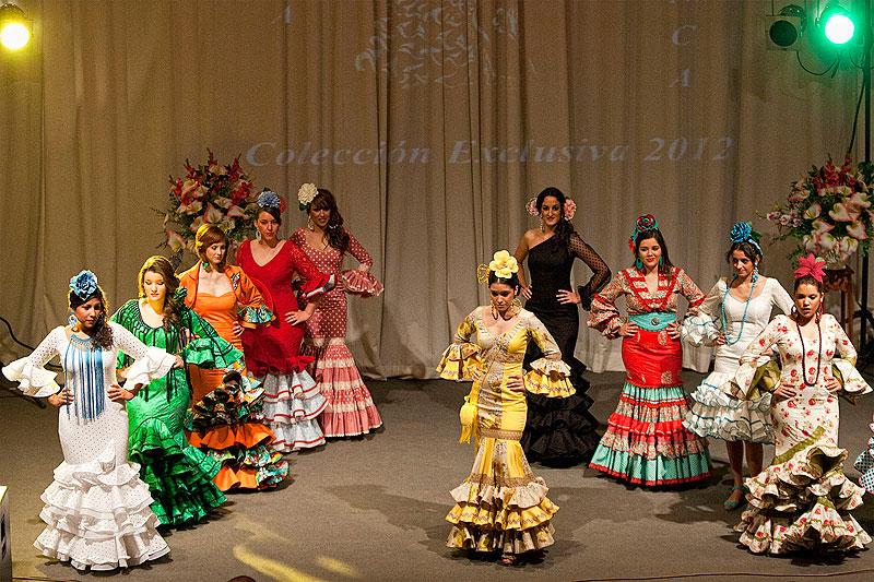 Colección 2012 de Trajes de Flamenca y Campero de Pedroche Gitana. Foto: cordobaflamenca.com