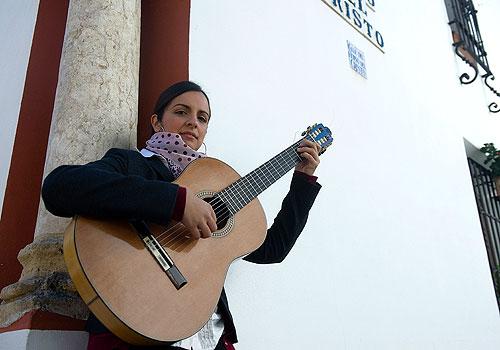 Inmaculada Morales, guitarrista de flamenco