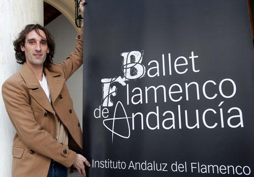 Entrevista a Rubén Olmo, director del Ballet Flamenco de Andalucía